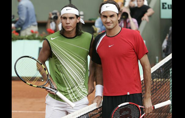 """""""When Rafael Nadal was 17 years old, he beat Roger Federer in their first match against each other at Wimbledon. Nadal was the youngest male tennis player to make it to the third round, and their game marked the beginning of one of the greatest tennis rivalries."""""""
