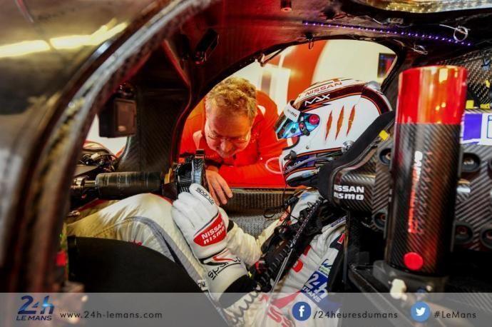 Max Chilton (Nissan), une dédicace pour Jules Bianchi | Site Officiel des 24 Heures du Mans