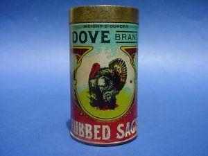 "Rare Vintage Spice Tins | RARE Vintage ""Dove Brand"" Spice Tin Does It Picture A Dove No A Turkey ..."