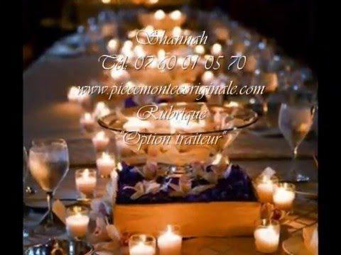 les beaux centres de table de mariage et réception