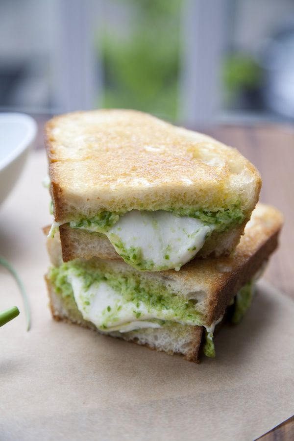 ... Pesto Pasta Recipe, Grilled Chees Sandwiches, Garlic Scapes Pesto