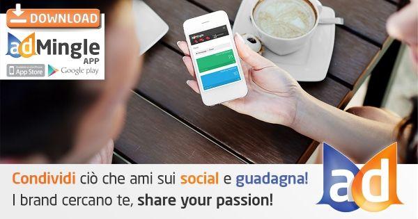 Perfetto! Ora scarico l'app e i miei guadagni con adMingle saranno più semplici da realizzare! MingleApp  #ad #ad