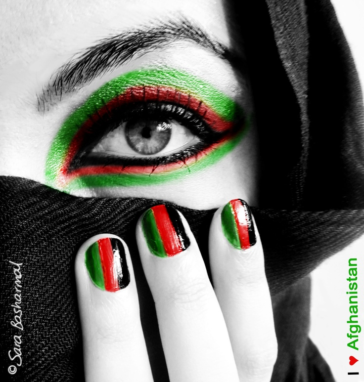 Afghanistan Culture Afghan Pride A Photo Edited Using