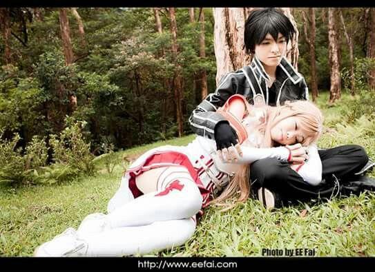 Kirito & Asuna Cosplay - By Sword Art Online ღ