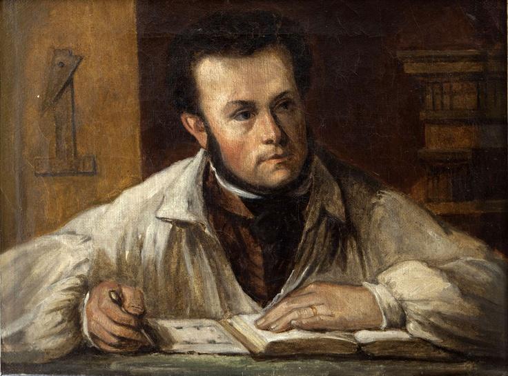 Autoportrait de Victor Baltard, vers 1833, huile sur toile - collection particulière.   | © Musée d'Orsay / Patrice Schmidt