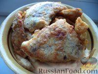 Фото к рецепту: Отбивные из куриного филе в кляре