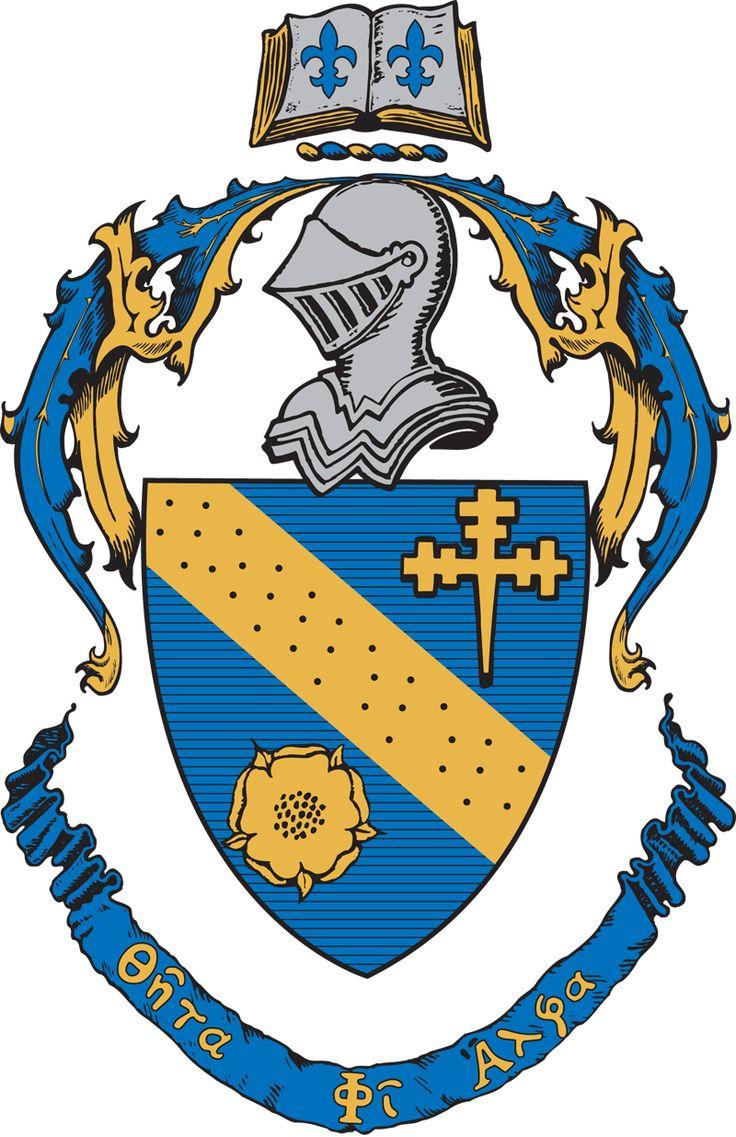 allaboutsorority:    Theta Phi Alpha crest