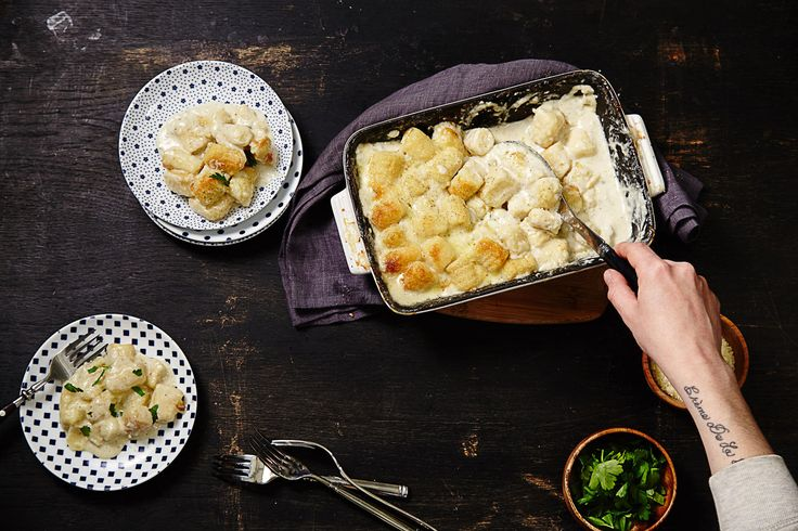 Gnocchi combines the best of potatoes and pasta. and these pillowy Italian dumplings are slathered in a rich, creamy pungent cheese sauce. Make sure to rice the...