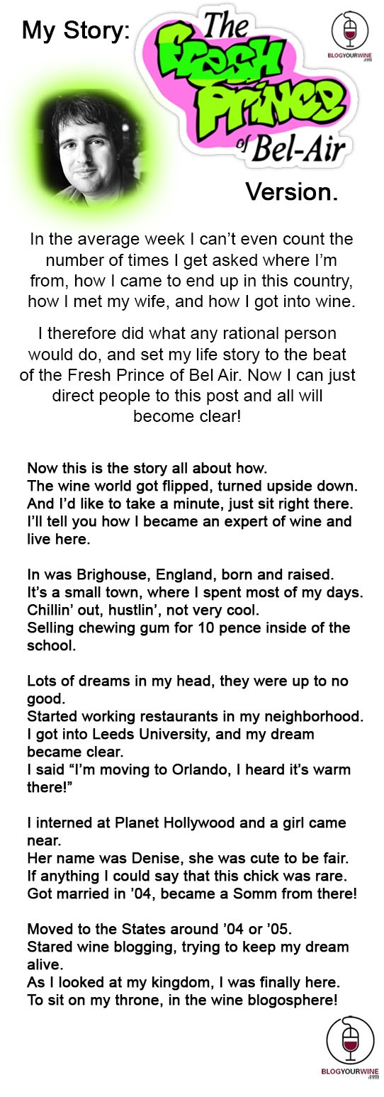 Unique My Story The Fresh Prince of Bel Air Version