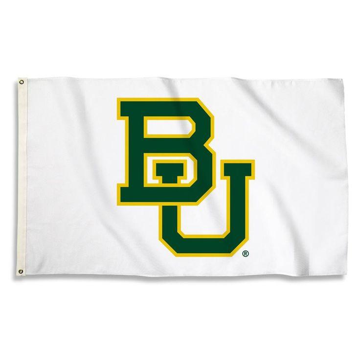 Baylor Bears BU Logo Team Spirit Flag