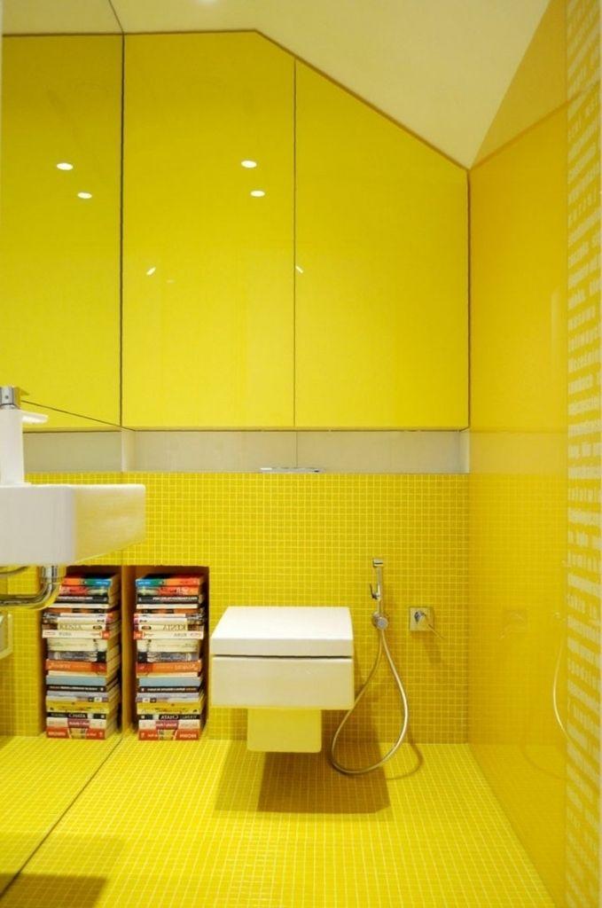 Bildergebnis Für Badezimmer Gelb