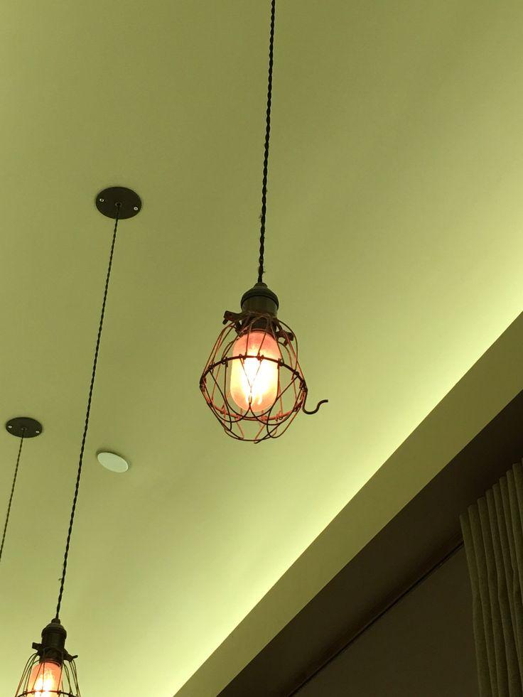 Lampe pendule