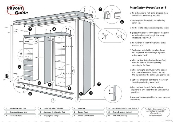 How To Build A Sliding Door Wardrobe Pvz Built In