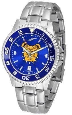 North Carolina A Aggies Men's Stainless Steel Dress Watch by SunTime. $88.95. Men. AnoChrome Dial Enhances Team Logo And Overall Look. Officially Licensed NC A Aggies Men's Stainless Steel Dress Watch. Stainless Steel. Links Make Watch Adjustable. North Carolina A Aggies men's stainless steel watch. College dress watch with rotating bezel color-coordinated to compliment your favorite team logo. The Competitor Steel utilizes an attractive and secure stainle...