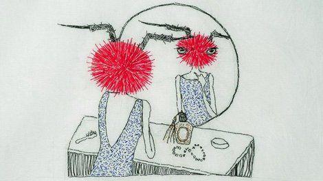 Julie Skarland, Bluer than velvet - Warmer than May on ArtStack #julie-skarland #art