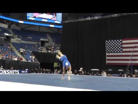 Steven Legendre (OU Grad) - Floor - 2012 Visa Championships, Day 1.  D score of 6.9!