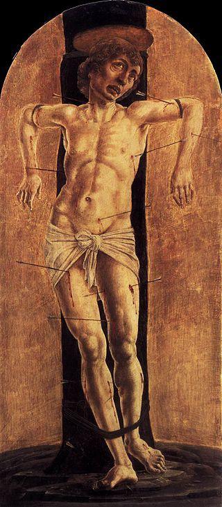 Cosmè tura, san sebastiano - San Domenico (Cosmè Tura) -