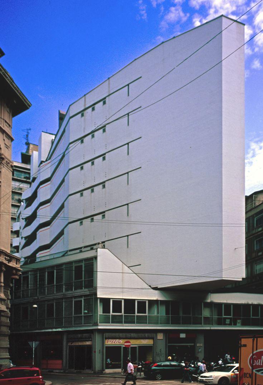 Luigi Moretti: Corso Italia Complex, Milan (1956)