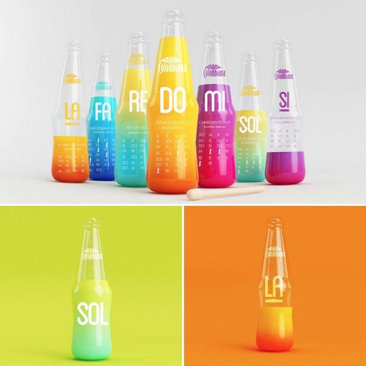 """1,423 次赞、 11 条评论 - The Dieline (@thedieline) 在 Instagram 发布:""""Just looking at this bottles will send an energy pulsing through your veins. With music and rhythm…"""""""
