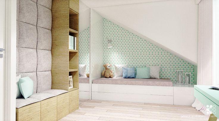 Galeria projektów - Kategoria: Domki szeregowe - Klaudia Tworo - Projektowanie wnętrz