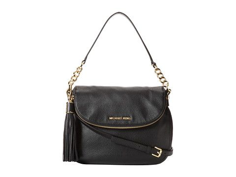 MICHAEL Michael Kors Bedford Medium Convertible Shoulder Black - Zappos.com Free Shipping BOTH Ways