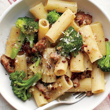 Emeril's Rigatoni with Broccoli and Sausage Recipe | Food Recipes - Yahoo Shine