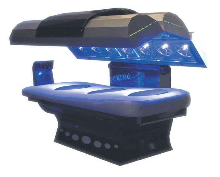 Lettino solare abbronzante alta pressione Extro 21 abbronzatura solarium