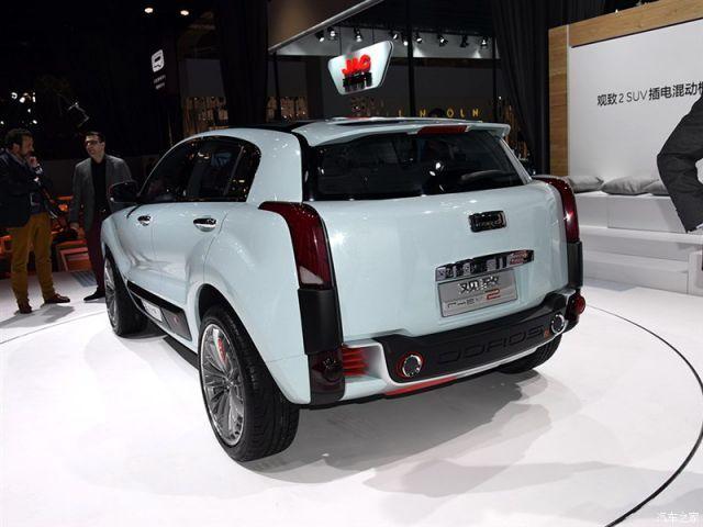 2015 Qoros 2 SUV concept