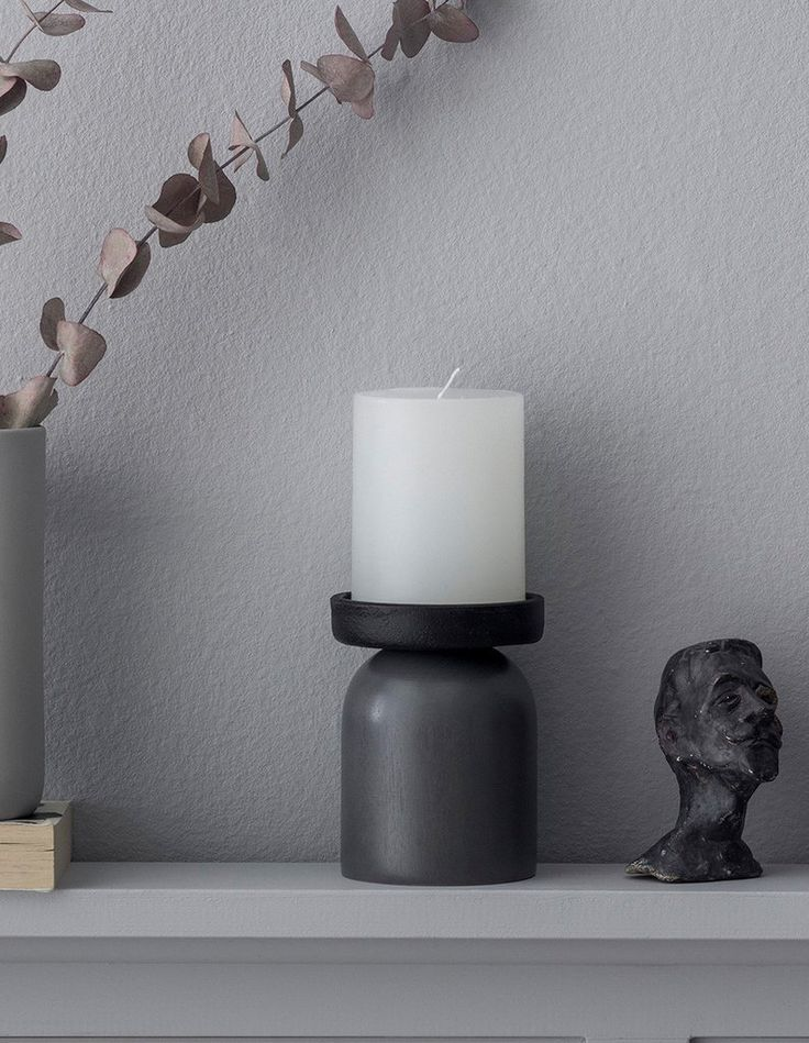 Kaamos candle holder. Design by Saija Malila. www.aarikka.com