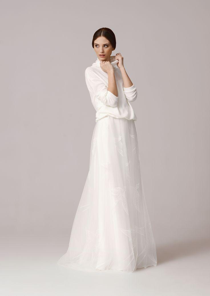 POLLY SWEATER suknie ślubne Kolekcja 2016