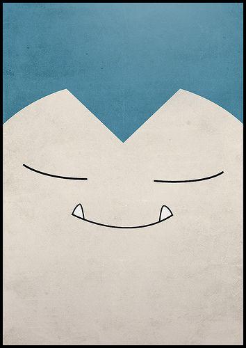 #143 Snorlax by Jorden Tually