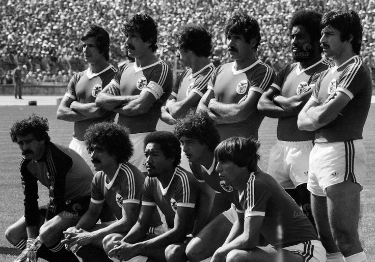 Final da Taça de Portugal 1980 Benfica 1 - 0 Porto Nené, Humberto, Laranjeira, Toni, Alberto, Bastos Lopes; Bento, Pietra, Shéu, César, Carlos Manuel