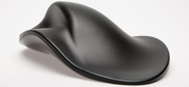 "Hippus Handshoe Mouse, the mouse that fits your hand ""like a glove"""