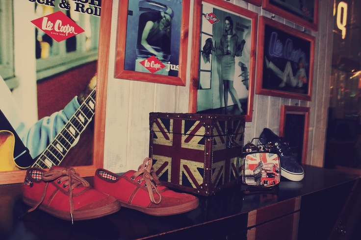 Lee Cooper interior during Spring/Summer 2012 Party