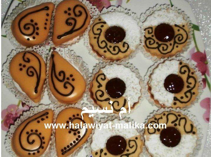 صابلي بنكهة البرتقال رووعة للأخت أم نسيم الطريقة: http://www.halawiyat-malika.com/2016/06/blog-post_29.html