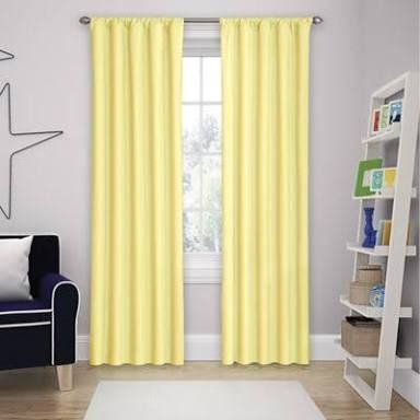 Image result for yellow curtain kids