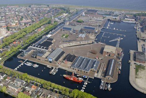 Willemsoord te Den Helder (de oude rijkswerf) de thuisbasis van Het Handelshuis Atlantis en de Tres Hombres .
