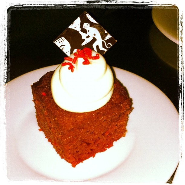 Best red velvet cake ever tastes yet at The Bazaar by José Andrés at Los Angeles