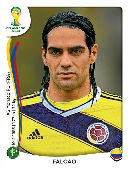 202 Falcao Colombia - Colombia - MUNDIAL BRASIL 2014