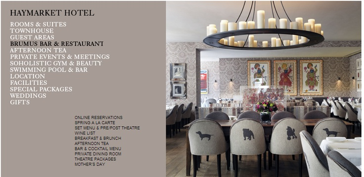 3 Course Meal With Champagne £24.95 @ Brumus - Haymarket British Restaurant Piccadilly London SW1  http://www.toptable.co.uk/brumus-haymarket