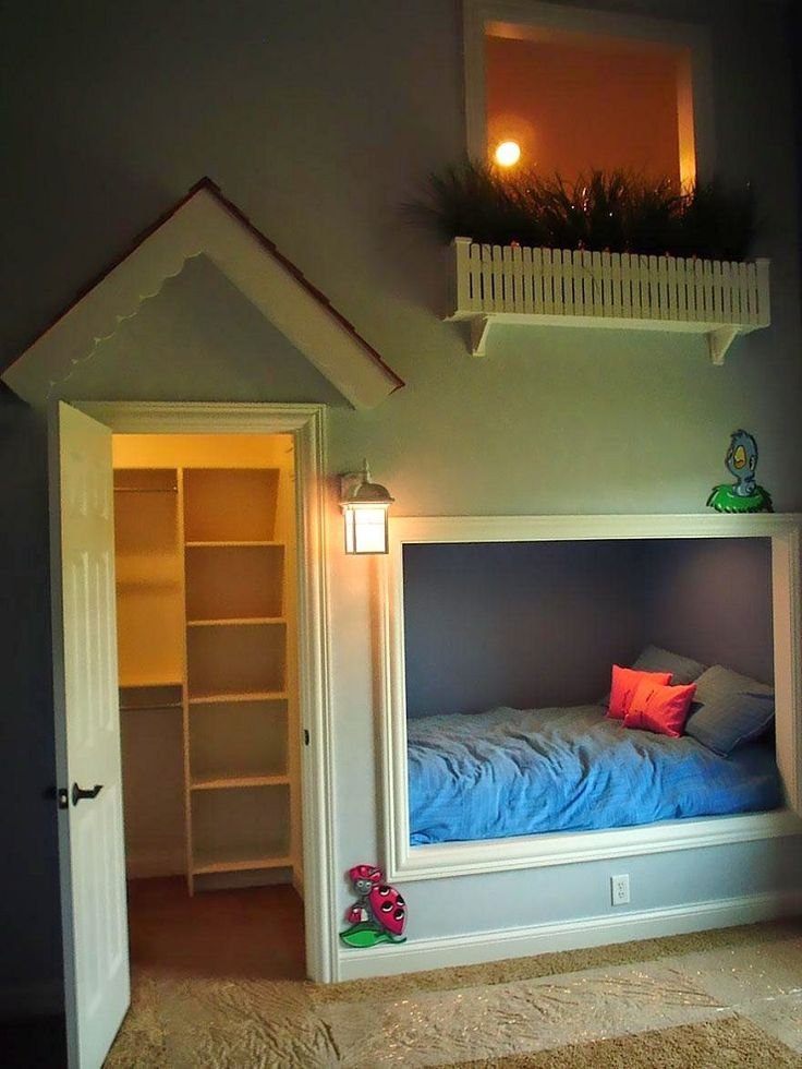 """""""Sogni d'Oro - 10 Idee di design di camere da letto per i bambini - Maisonette in camera"""""""