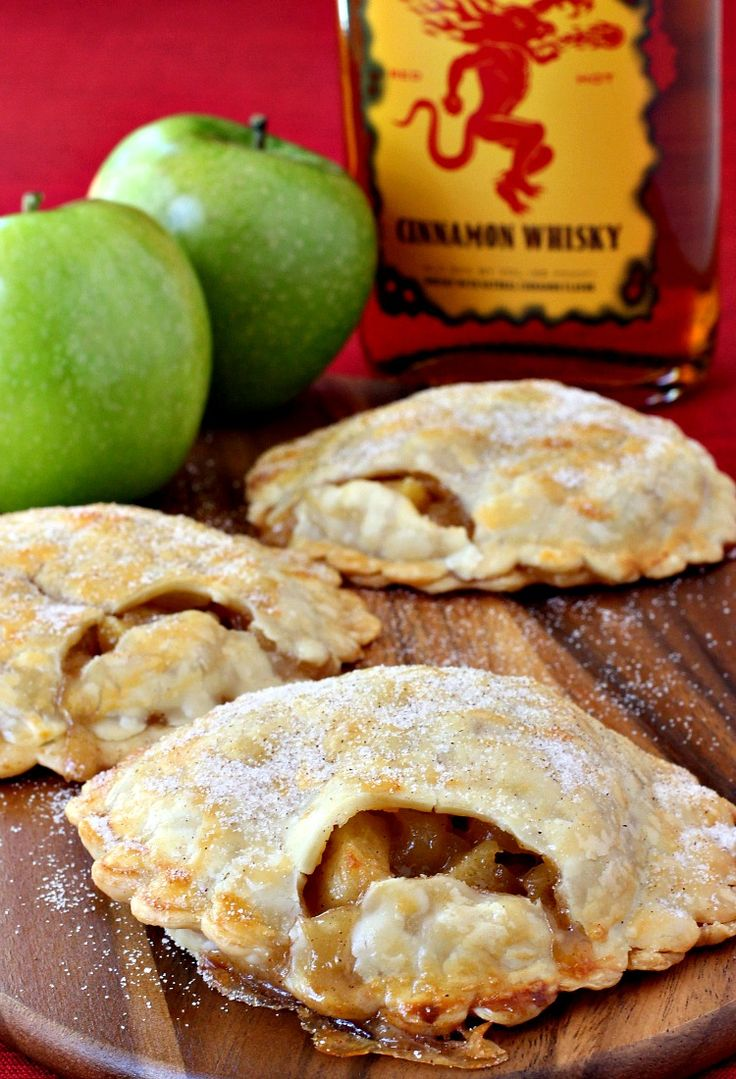 We know you love drinking that Fireball Whisky, but lets do some cooking with it too! I'm making dessert today - Fireball Whisky Apple Pies!