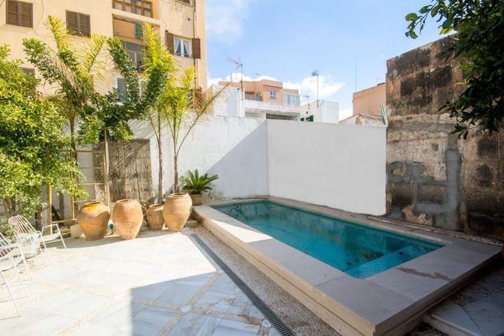 Portixol/ Es Molinar, Palma de Mallorca: Exklusivt nybyggt townhouse i Molinar med pool och havsutsikt