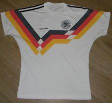 Germany 1990s Vintage Football Shirt Soccer Jersey Adidas Oldschool Retro M or L