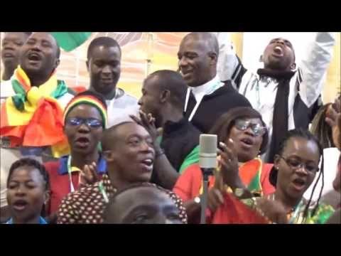 ŚDM w a Paulo - prezentuje się grupa z Ghany