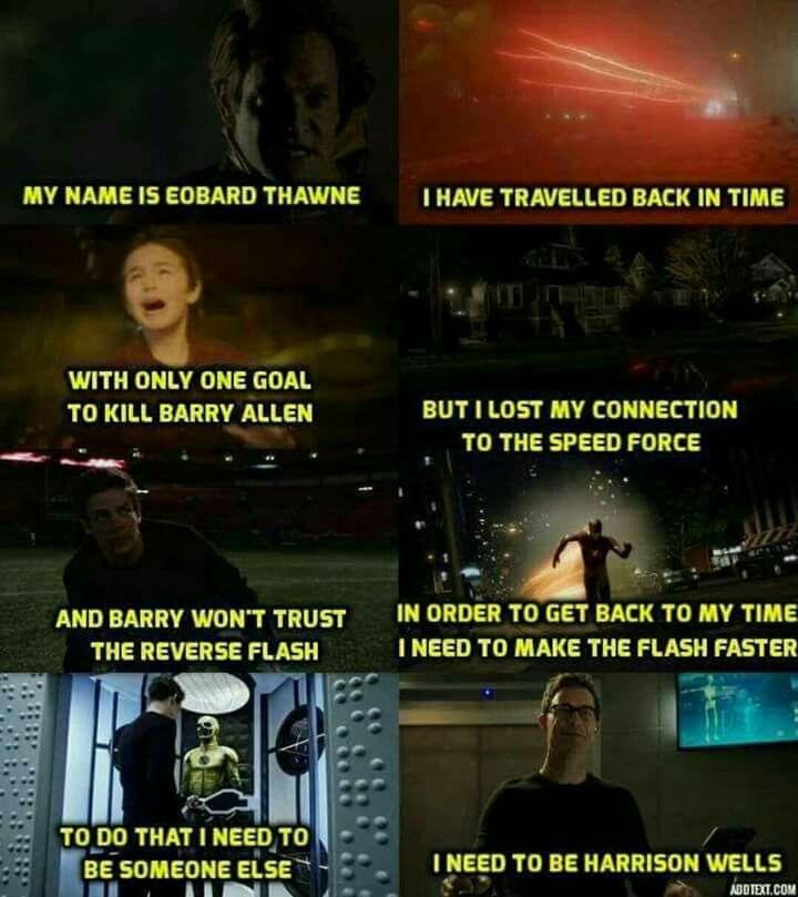 Eobard Thawne/Harrison Wells/The Reverse Flash