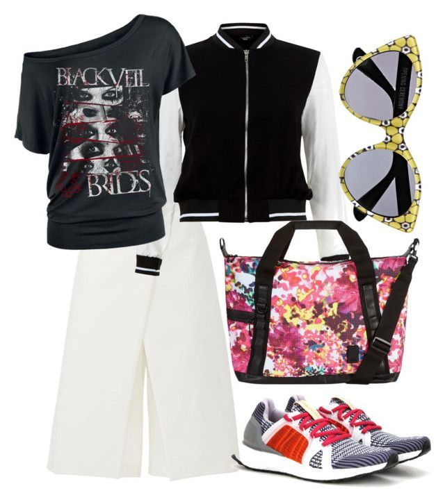 """Untitled #101"" by nenglita on Polyvore featuring TIBI, New Look, adidas and Opening Ceremony"