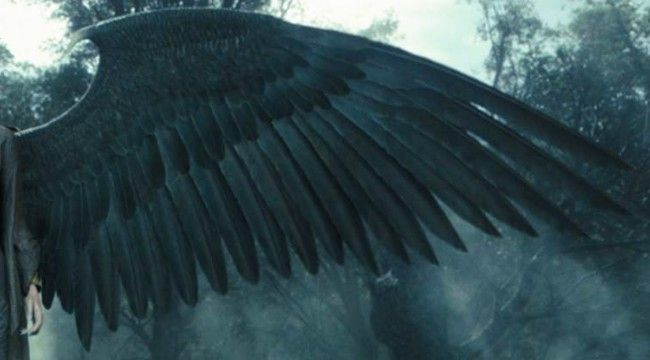 DIY ideas for crafting Maleficent's Magnificent Wings from feathers, fabric, foam sheets and paper.