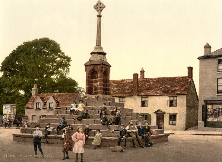 Lydney Town Cross, Lydney 1890-1900