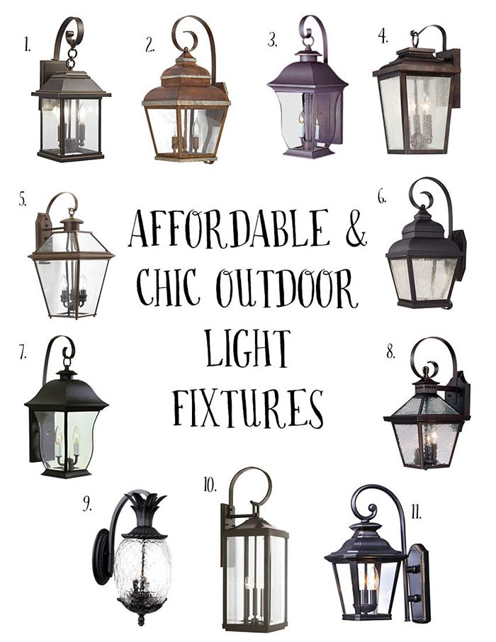 Affordable And Chic Outdoor Light Fixtures Outdoor Light Fixtures Farmhouse Outdoor Lighting House Lighting Outdoor Farmhouse outdoor lighting fixtures